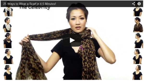 Handpicked Videos on How to Tie a Scarf